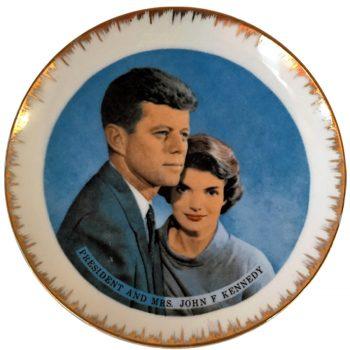 Assiette déco Kennedy