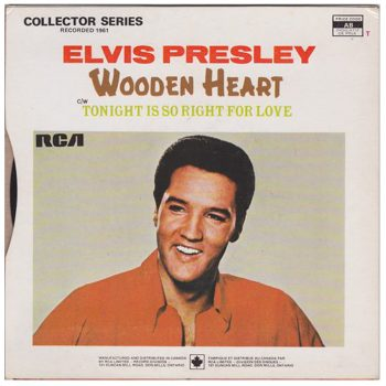 Vinyle de Elvis Presley