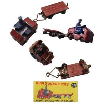 Jouet tracteur auto